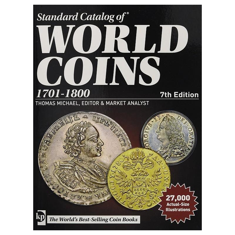 Catálogo Mundial World Coins 1701-1800 edicion 2019