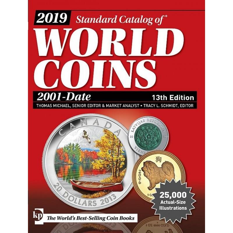 Catálogo Mundial World Coins 2001-actualidad  edicion 2019