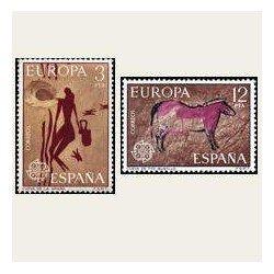 1975 Sellos de España (2259/60). Europa CEPT.