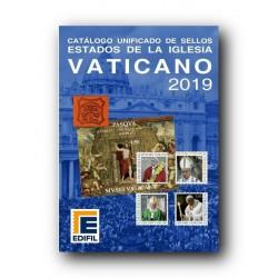Catálogo de sellos de Vaticano 2019