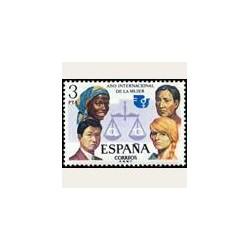 1975 Sellos de España (2264). Año Internacional de la Mujer.