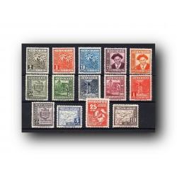 1948-53 Sellos de Andorra (correo español 45/58). Tipos...
