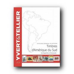 Catalogo de Sellos Yvert et Tellier América del Sur 2019