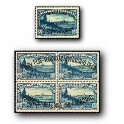 1938 Sellos de España (789/790). II Aniv. de la Defensa...