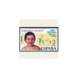 1975 Sellos de España (2282). Pro Defensa de la Vida.