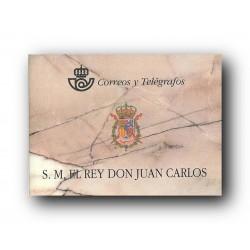 1998 Sellos de España. Carné S.M. D. Juan Carlos I. 3544C