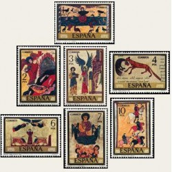 1975 Sellos de España (2284/91). Códices.