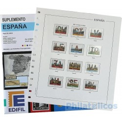 Suplemento Edifil España 2019 sólo Sellos y Hojas Bloque