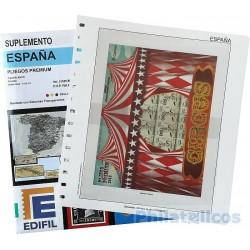Suplemento Edifil España Pliegos Premium 2019