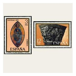 1975 Sellos de España (2300/01). Navidad.