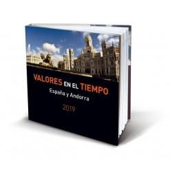 Álbum de sellos Correos España y Andorra 2019 sin sellos