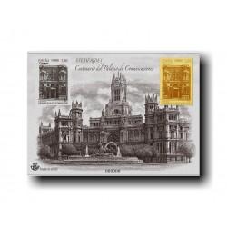 2019 Prueba Filatélica Oficial 143. Palacio de...