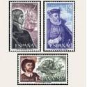 1976 España. Personajes (Edif.2308/10) **