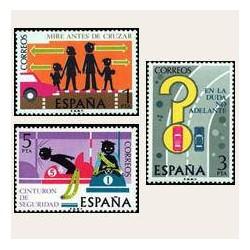 1976 España. Seguridad Vial (Edif.2312/14) **