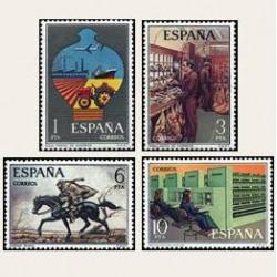 1976 España. Servicios de Correos (Edif.2329/32) **
