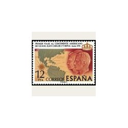 1976 España. Viaje a América de SS.MM. Los Reyes  (Edif.2333) **