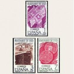 1976 España. Bimilenario de Lugo (Edif. 2356/58) **