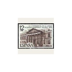 1976 España. Unión Interparlamentaria (Edif. 2359) **