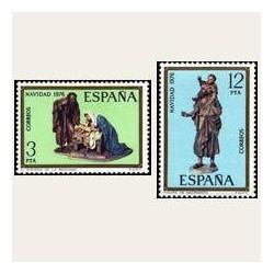 1976 España. Navidad. (Edif. 2368/69) **