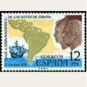1976 España. Viaje a Hispanoamérica de los Reyes. (Edif. 2370) **