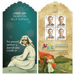 2020 Carné Promoción de la Filatelia ECC Cáceres