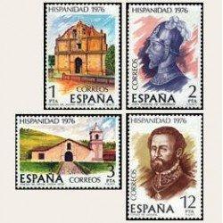1976 España. Hispanidad - Costa Rica. (Edif. 2371/74) **