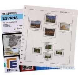 Suplemento Edifil España Sellos Cortados Procedentes de...