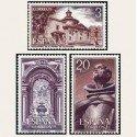 1976 España. Monasterio San Pedro de Alcántara. (Edif. 2375/77)