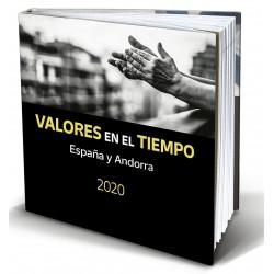 Álbum de sellos Correos España y Andorra 2020 sin sellos