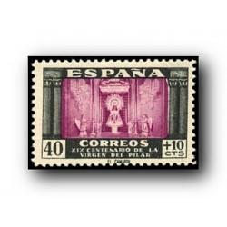 1946 Sellos de España (998). Virgen del Pilar.