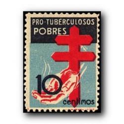 1937 Sellos de España (840). Pro Tuberculosis.**