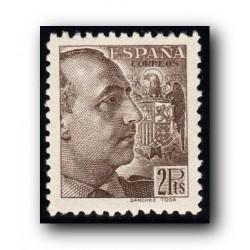 1939 Sellos de España (876). General Franco.**