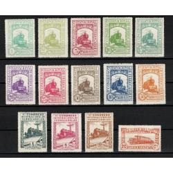 1930 Sellos de España 469/482 *. XI Congreso...
