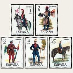 1977 España. Uniformes Militares. (Edif. 2381/85) **