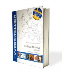 Catálogo de Sellos Yvert et Tellier Europa vol. V 2021...