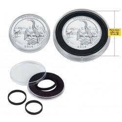 Cápsulas para Monedas Leuchtturm CAPS XL