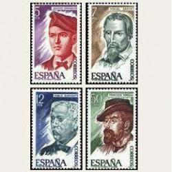 1977 España. Personajes. (Edif. 2398/01) **
