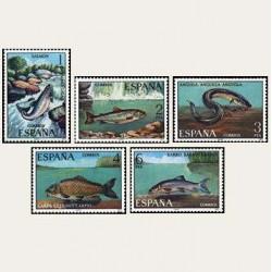 1977 España. Fauna (peces). (Edif. 2403/07) **
