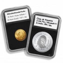 Cápsulas para monedas Leuchtturm EVERSLAB