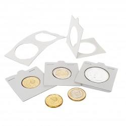 Cartones para monedas Leuchtturm para grapar (25 unds.)
