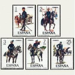 1977 España. Uniformes Militares. (Edif. 2423/27) **