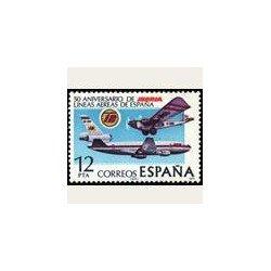 1977 España. Aniversario de Iberia. (Edif. 2448) **