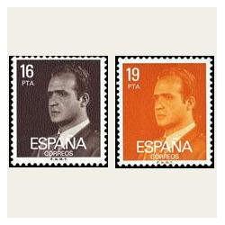 1980 España. Juan Carlos I (Edif.2558/59) **