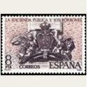 1980 Sellos de España. La Hacienda Publica y Los Borbones. **