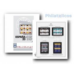 Suplemento Efilcar España 2015 Bloque de Cuatro
