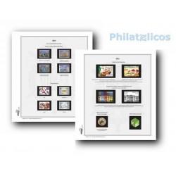 Suplemento Efilcar España 2015 sellos cortados de H.B.