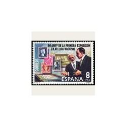 1980 España. Aniv. Primera Exp. Fil. Nacional. (Edif.2576) **