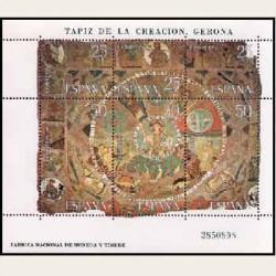 1980 España. Tapiz de la Creación. (Edif.2591) **