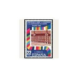 1980 España. Seguridad y Cooperación en Europa. (Edif.2592) **