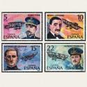 1980 España. Pioneros de la Aviación. (Edif.2595/98) **